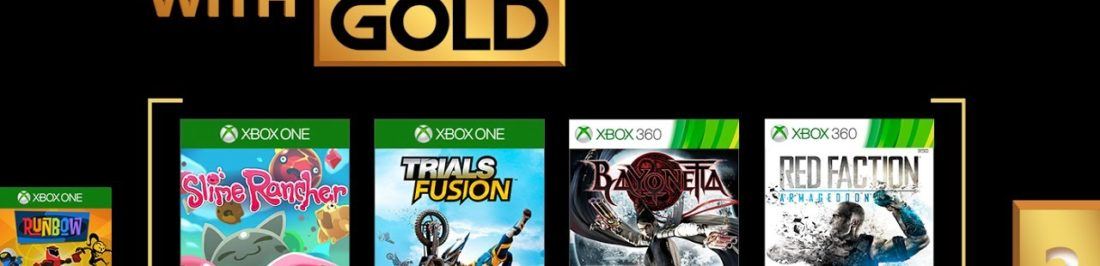 Xbox anuncia sus Games With Gold de Agosto