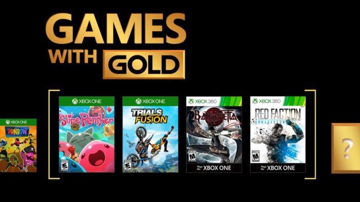 Xbox anuncia sus Games With Gold de Agosto