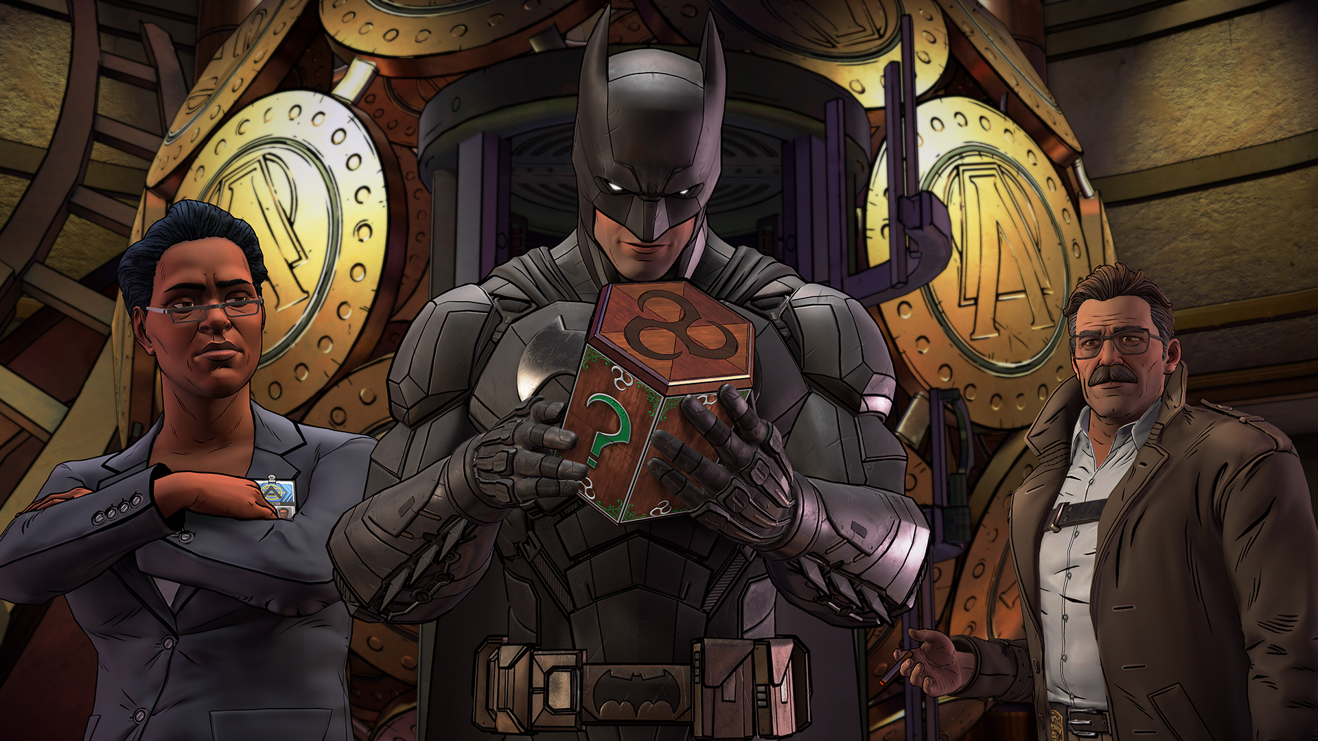Nuevo trailer y video con gameplay de Batman: The Enemy Within