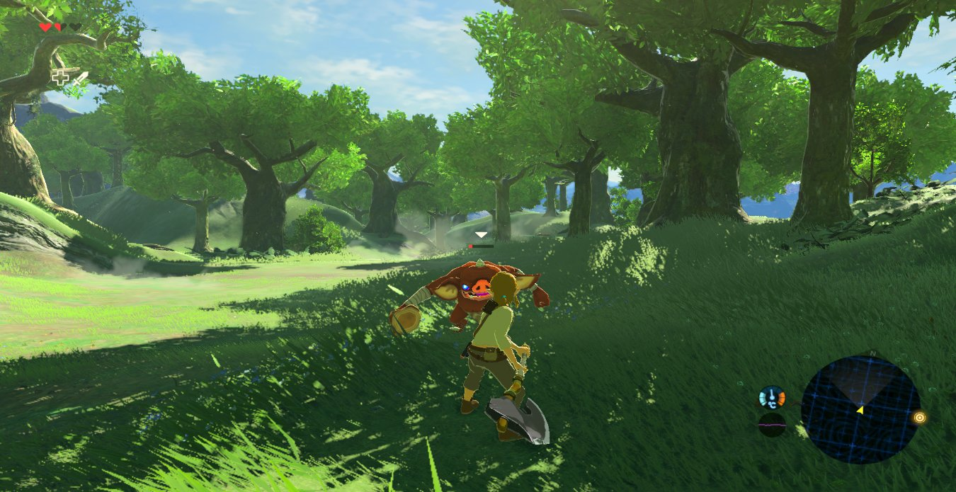 Jugando The Legend of Zelda: Breath of the Wild a 60 FPS en PC