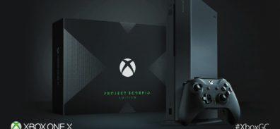 Conoce a la Xbox One X Project Scorpio Edition [#Gamescom17]