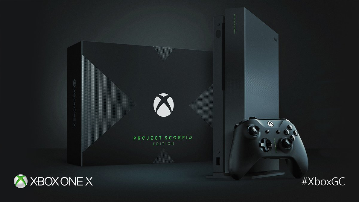 Conoce a la Xbox One X Project Scorpio Edition [#Gamescom17]