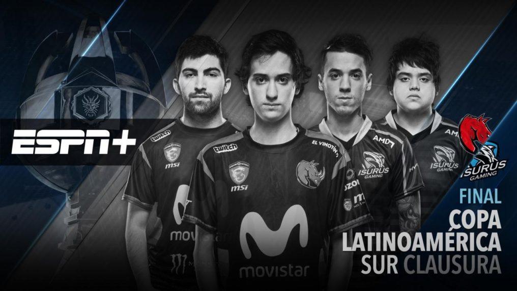 ESPN+ transmitirá la Final del Torneo Clausura de la Copa Latinoamérica Sur 2017 [LEAGUE OF LEGENDS]