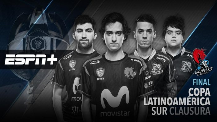 ESPN+ transmitirá la Final del Torneo Clausura de la Copa Latinoamérica Sur 2017 [LEAGUE OF LEGENDS]