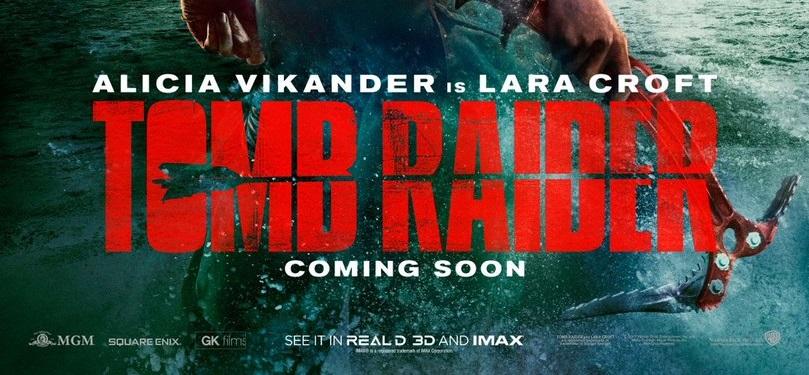 Mira el poster oficial del reboot de Tomb Raider en el cine