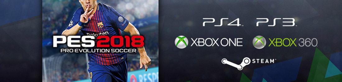Pro Evolution Soccer 2018 se encuentra oficialmente a la venta