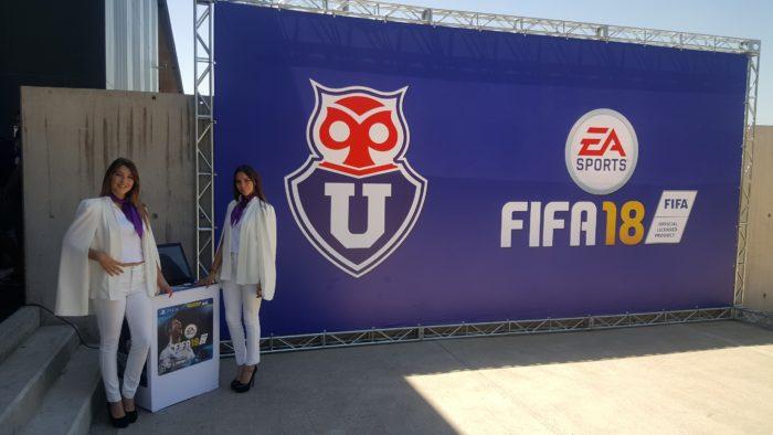 Universidad de Chile anunció alianza con EA Sports y FIFA18