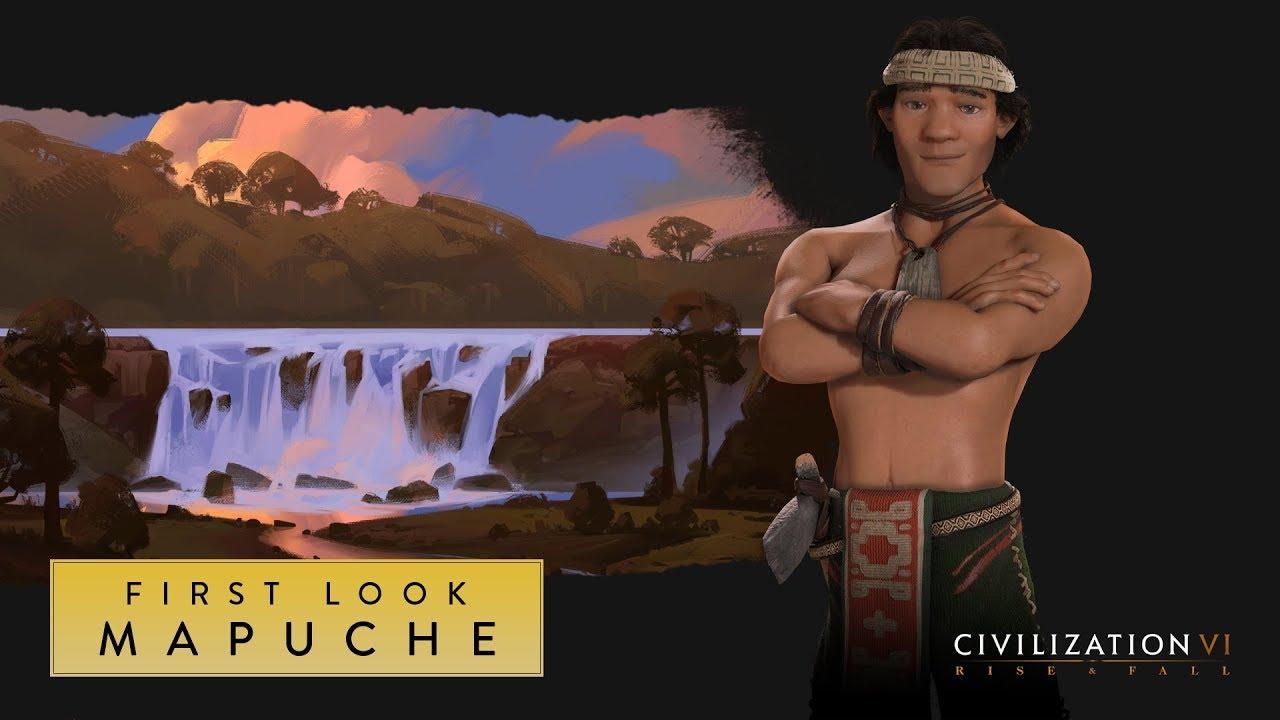 Nueva expansión de Civilization VI incluirá a los Mapuche