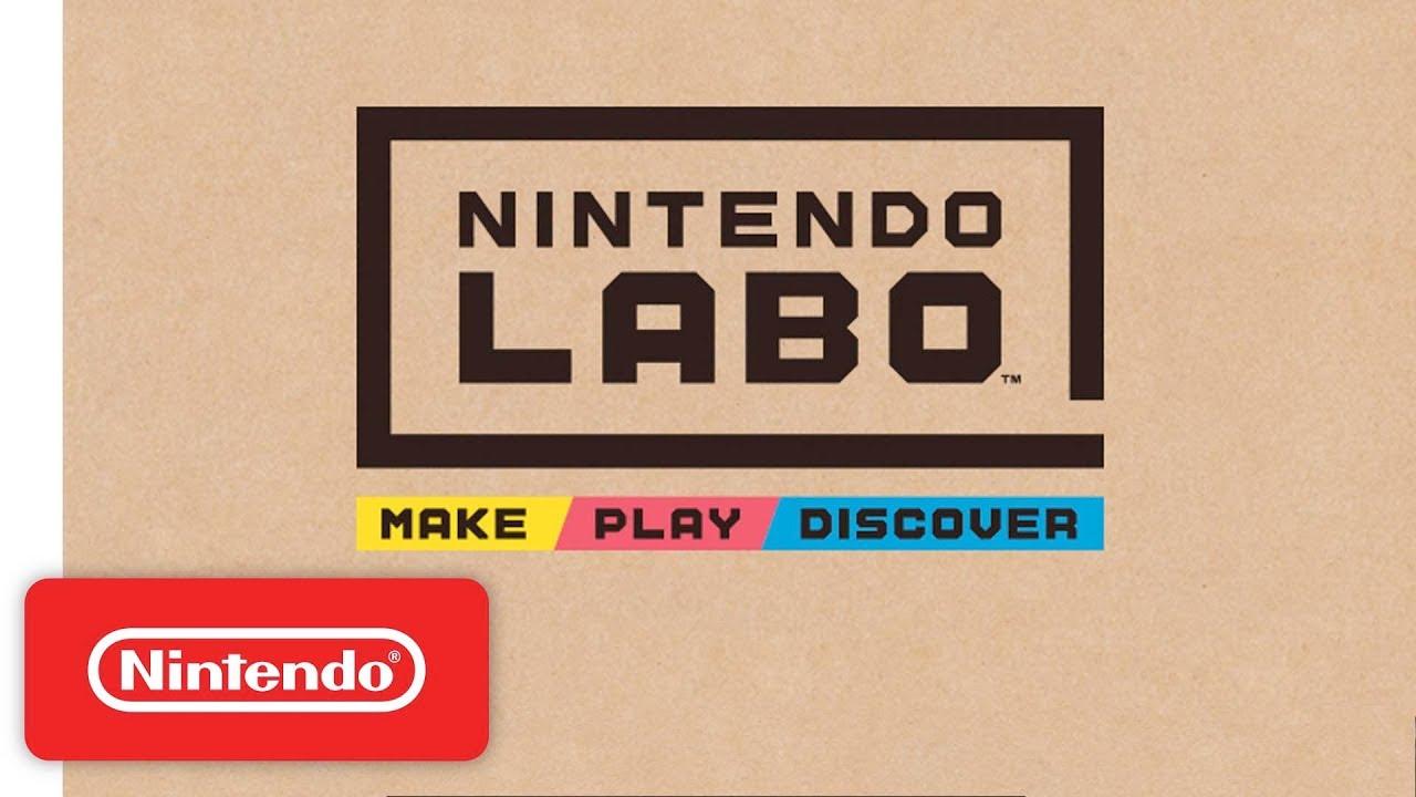 """Esto es """"Nintendo Labo"""", los nuevos juguetes de cartón de Nintendo"""