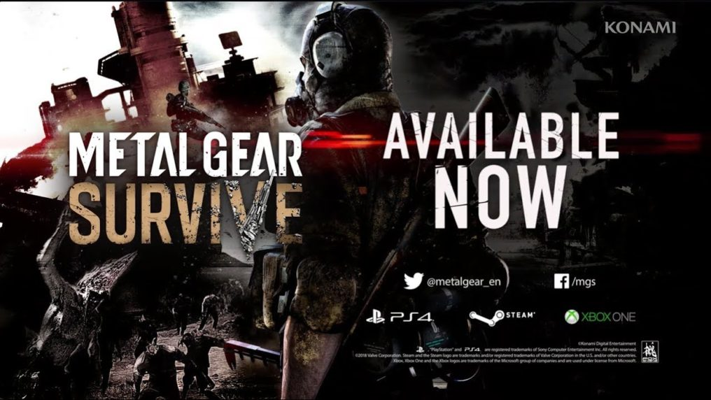 METAL GEAR SURVIVE ya se encuentra disponible