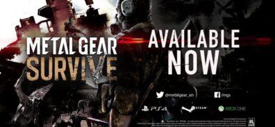 METAL GEAR SURVIVE ya se encuentra disponible