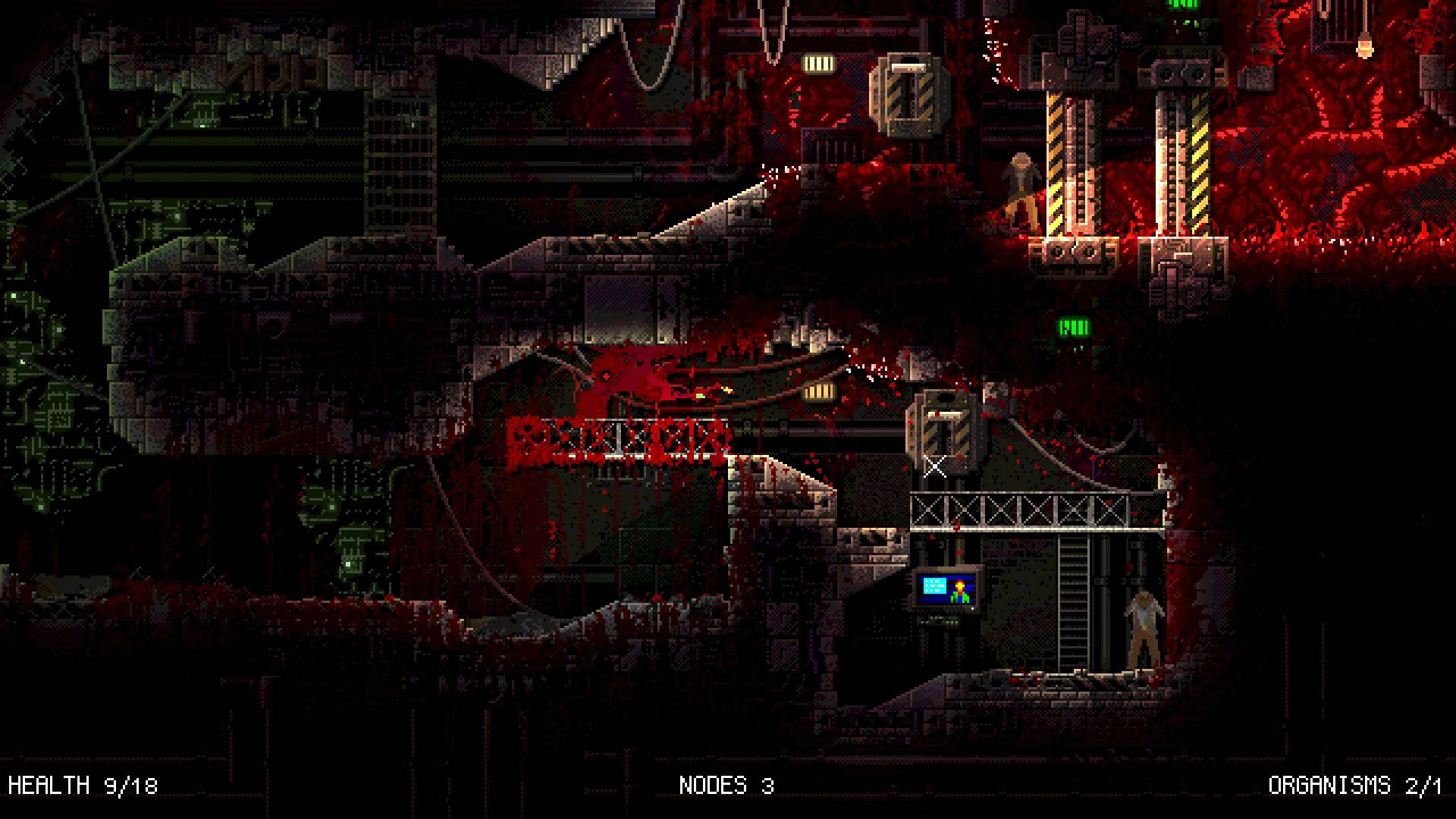 Carrion es un sanguinario juego de plataformas con un giro interesante