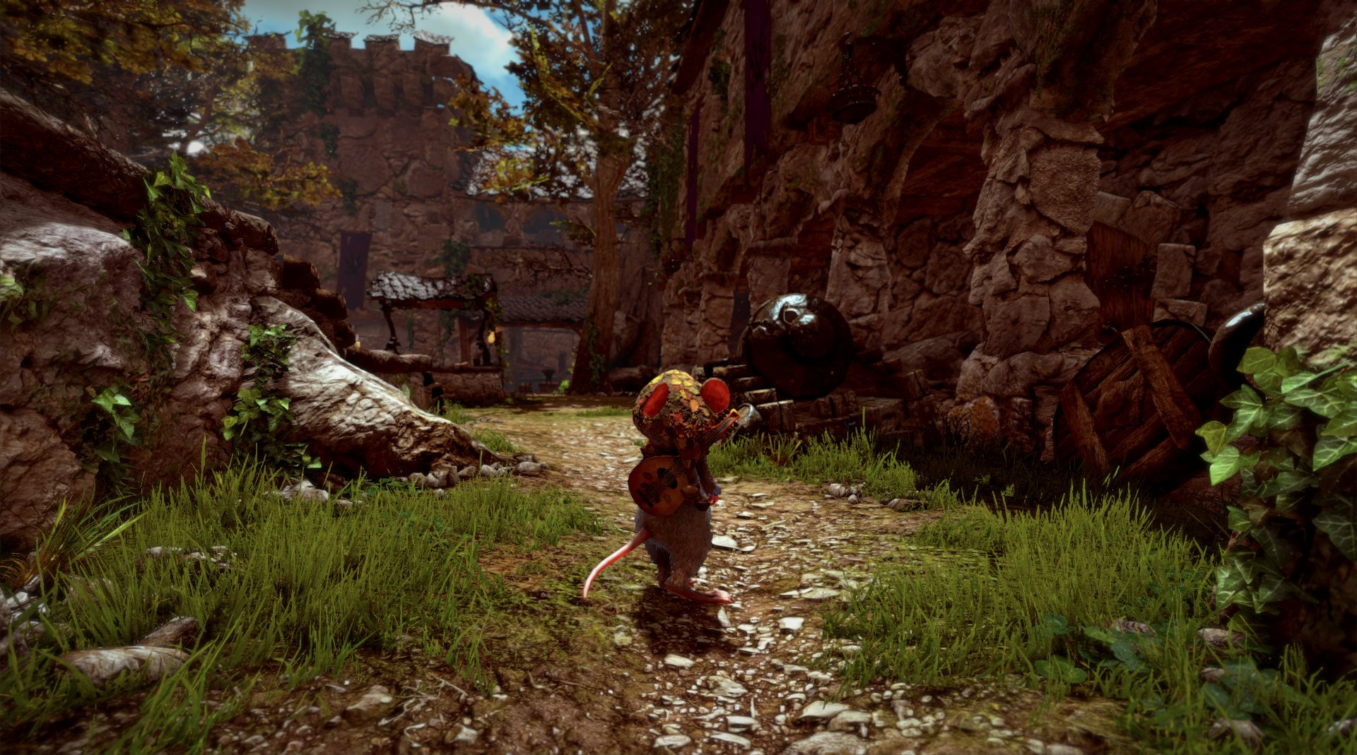 Ya esta disponible Ghost of a Tale y lo celebra con este trailer de lanzamiento