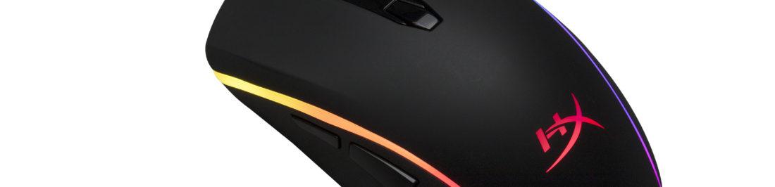 HyperX lanza mouse Pulsefire Surge con iluminación RGB