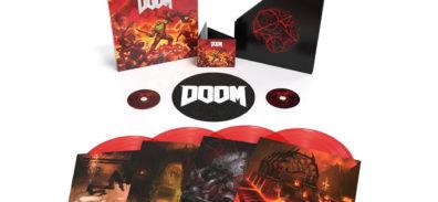 Anima tus mañanas con la hermosa banda sonora de Doom (2016) próximamente en vinilo [Edición limitada]