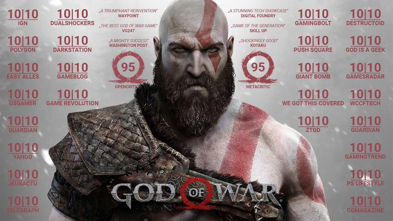 Todos los críticos están amando al nuevo God of War