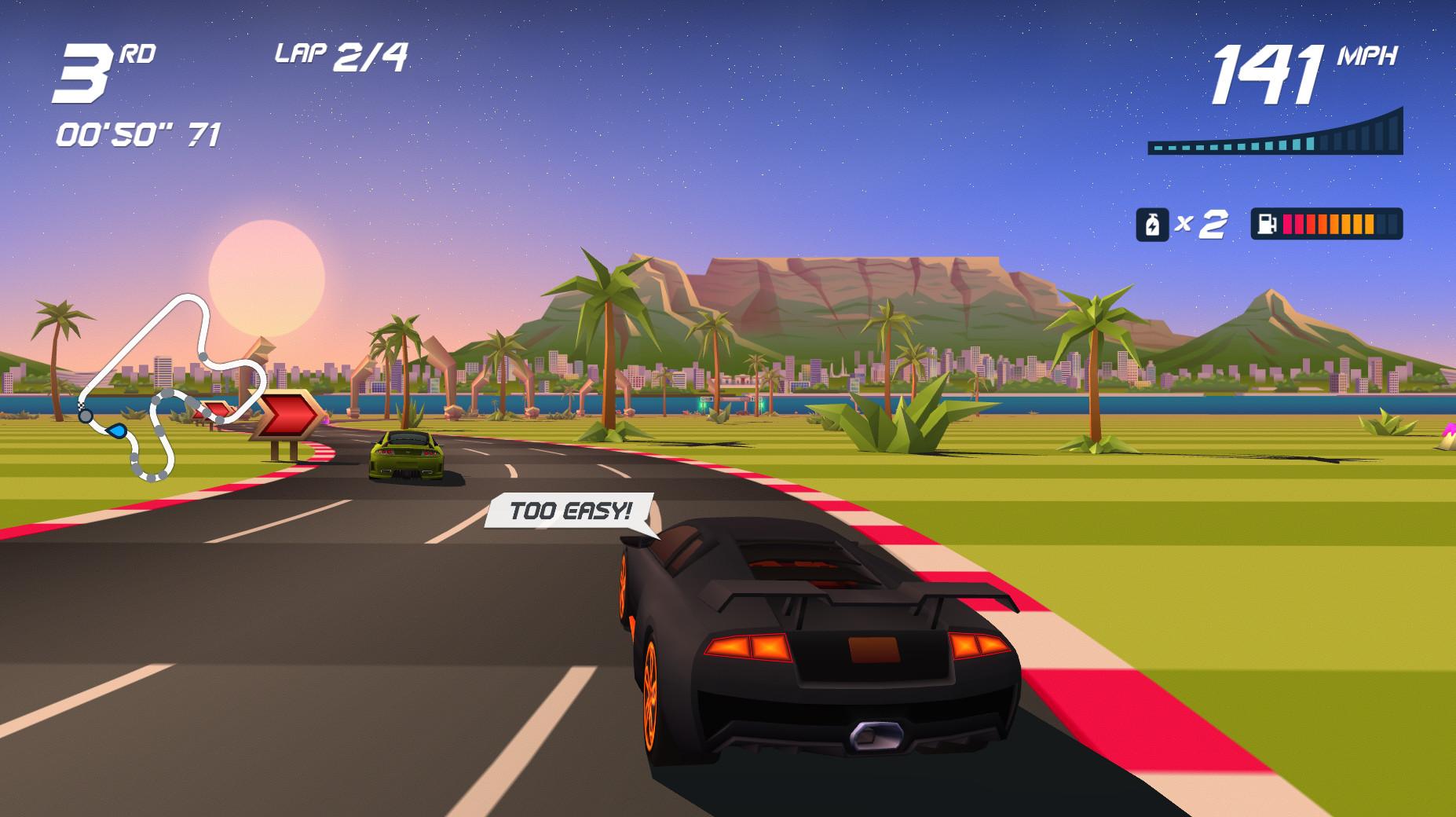 Horizon Chase Turbo es una carrera hacia la nostalgia