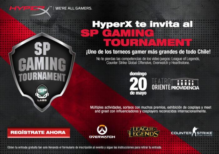 HyperX te invita al SP Gaming Tournament este domingo