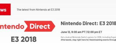 Sigue con nosotros la Nintendo Direct [#E32018]