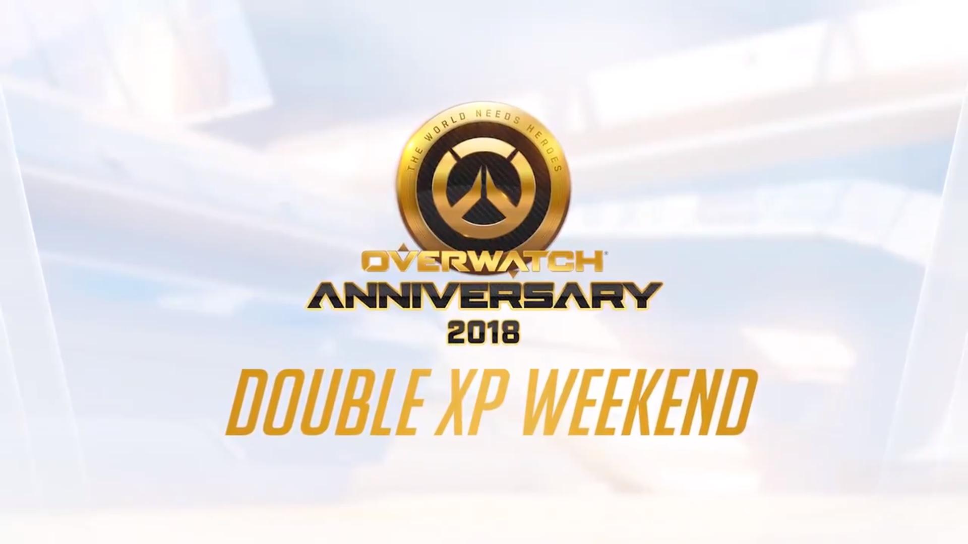 Fin de semana de doble EXP de Overwatch