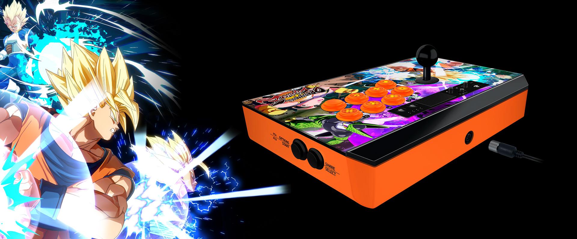 Razer anuncia los nuevos Arcade Stick Dragon Ball FighterZ