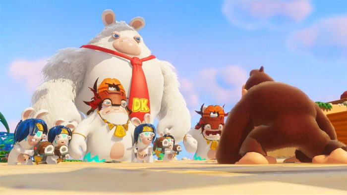 Donkey Kong Adventure Mario + Rabbids Kingdom Battle ya está disponible