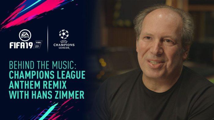Hans Zimmer creará un remix de la Champions para FIFA 19