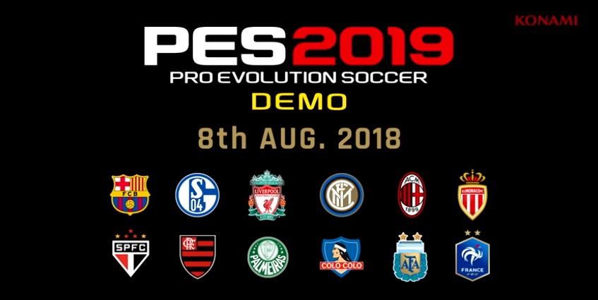 Konami anuncia presencia del demo de PES 2019 en Festigame