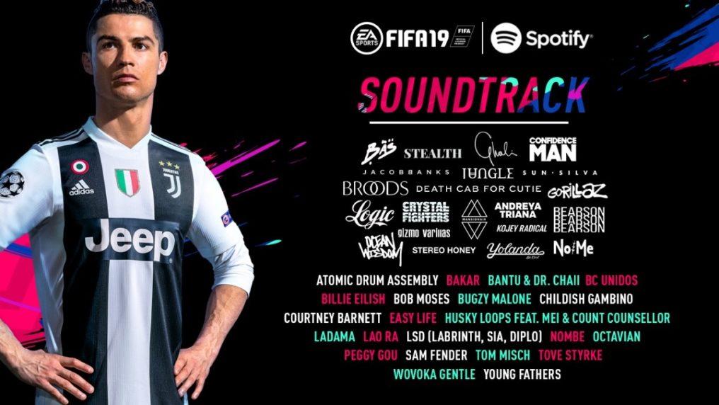 FIFA 19 incluye en su OST a Childish Gambino, Gorillaz y más