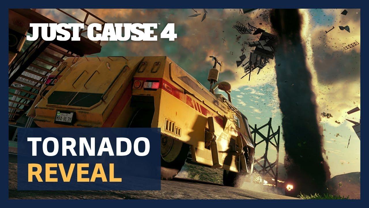 Nuevo gameplay de Just Cause 4: persiguiendo a un tornado