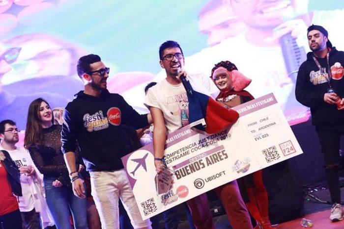 Pedro Morales gana por segundo año la competencia de Just Dance [#Festigame2018]