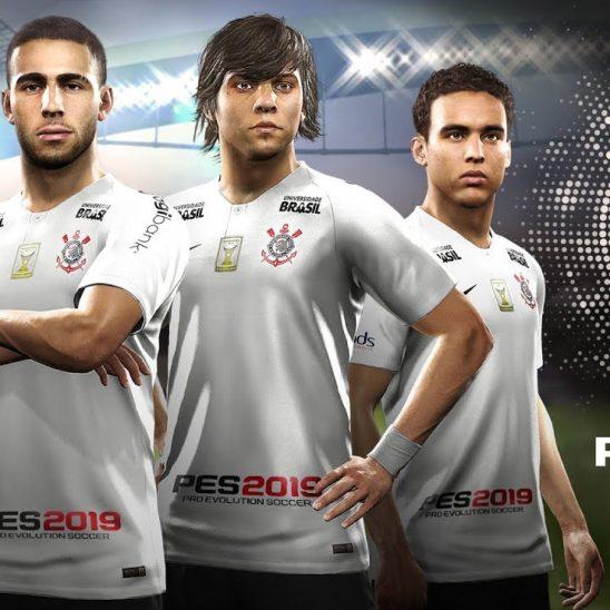 #PES 2019: KONAMI firma como patrocinador de Corinthians