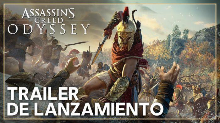 Trailer de lanzamiento de Assassin's Creed Odyssey