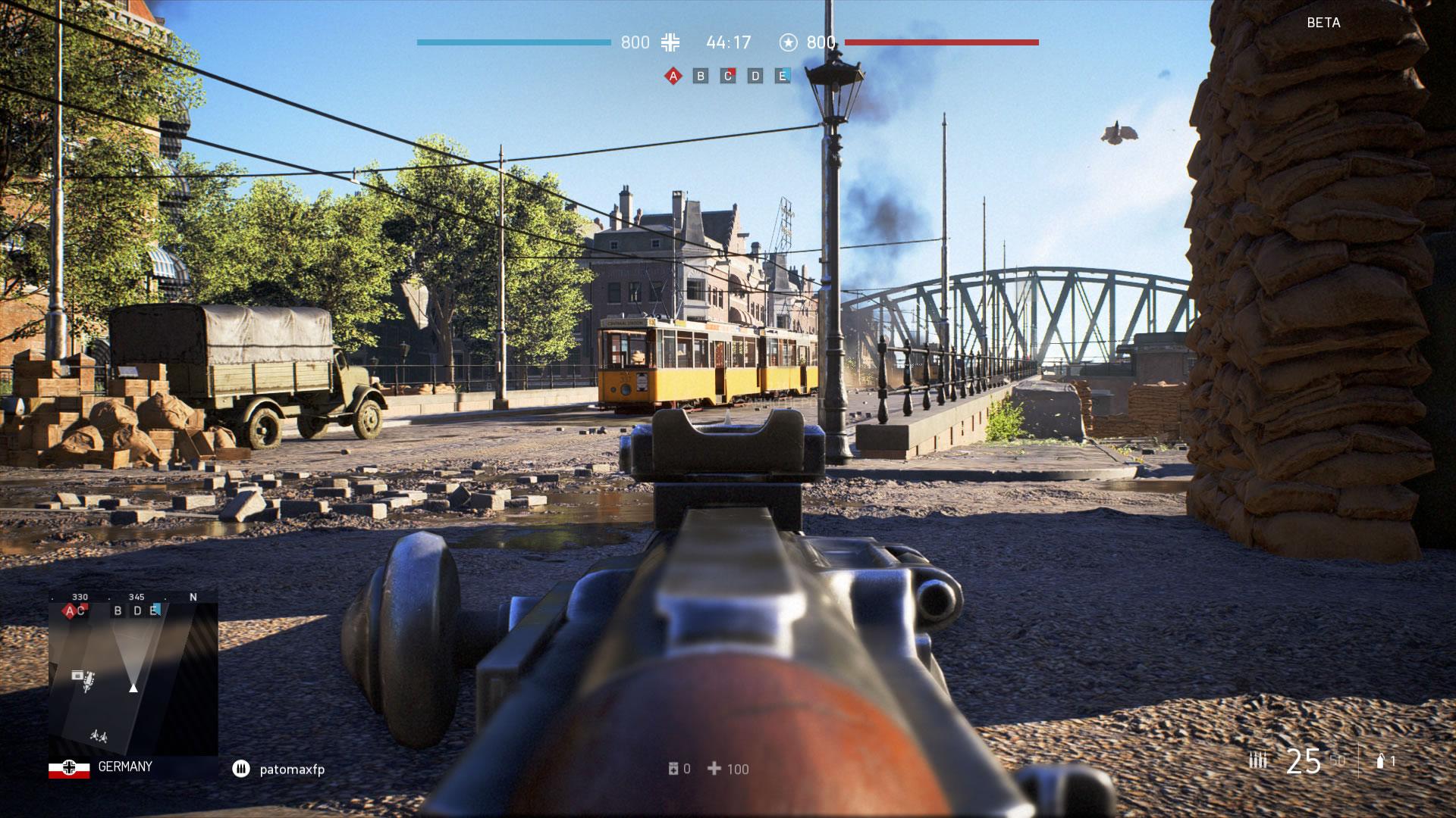 Algunas impresiones rápidas de la beta de Battlefield V
