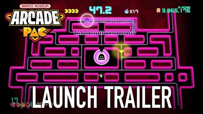Tráiler de lanzamiento de Namco Museum Arcade PAC