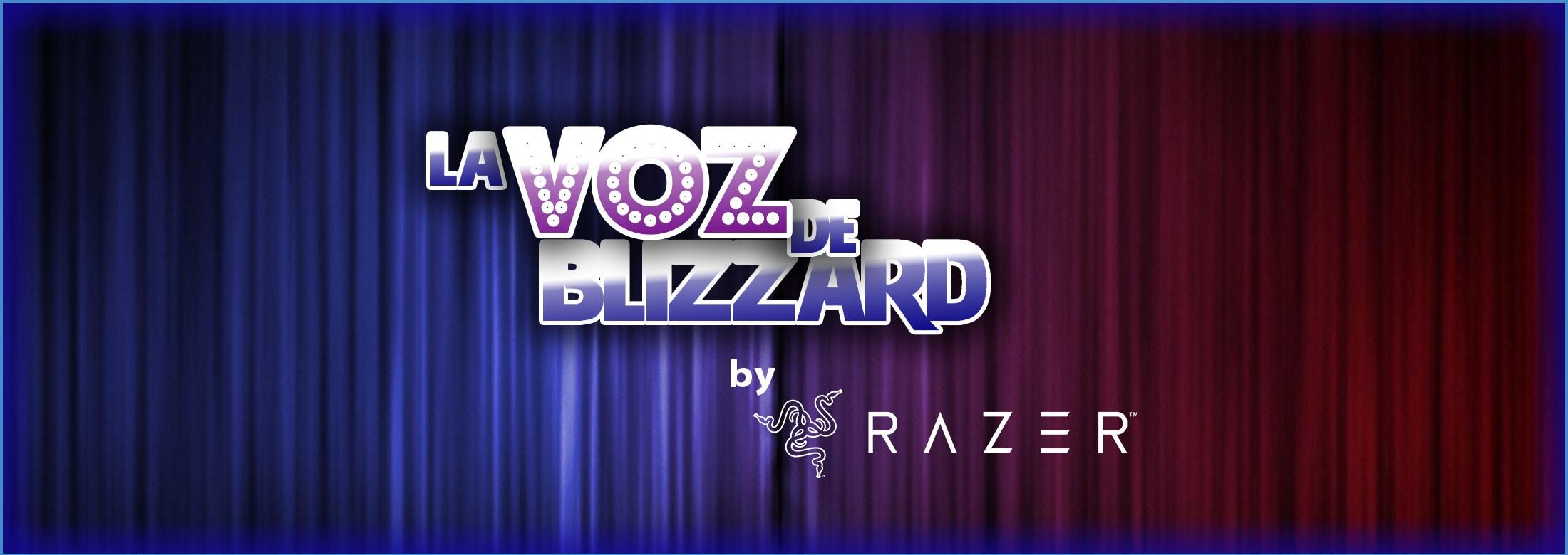 Razer y Blizzard buscan la nueva Voz Blizzard 2018