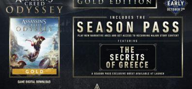 Assassin's Creed Odyssey ya disponible en su versión GOLD