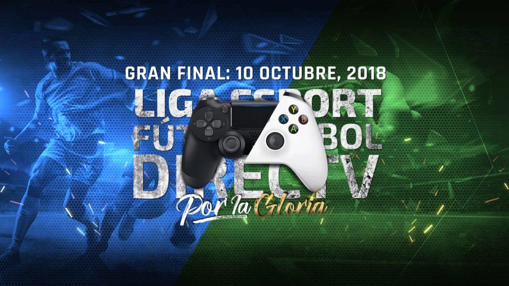 Mañana es la final de la Liga esport Fútbol DIRECTV