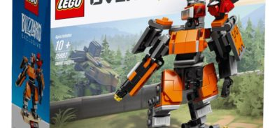 Blizzard: Bastion Overwatch LEGO, StarCraft II: SpeCial y dorso de BlizzCon para Hearthstone