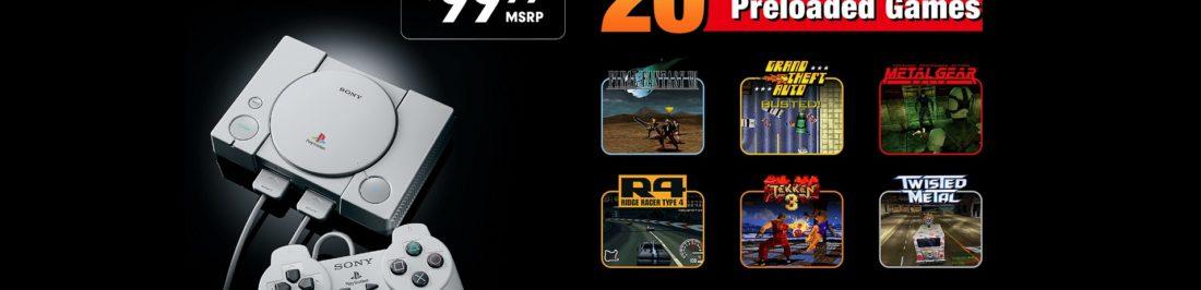 Conoce la la lista de 20 juegos de PlayStation Classic [VIDEO]