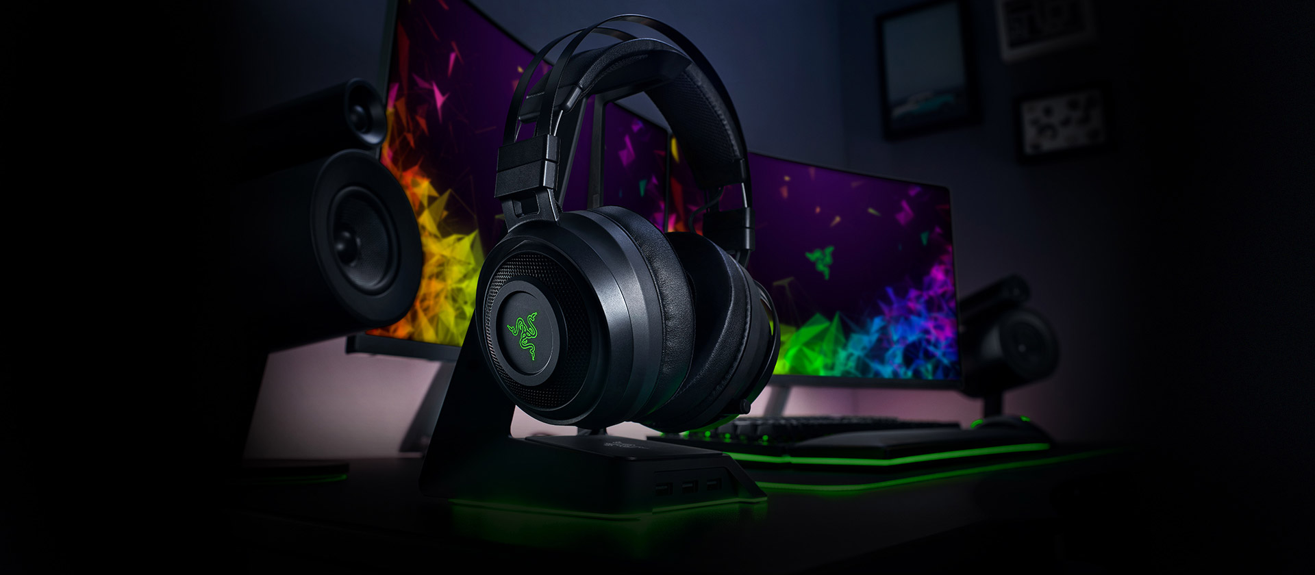 Razer presenta sus headset inalámbricos Razer Nari Ultimate