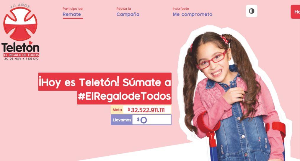Comenzó la Teletón 2018 y puedes apoyar de varias formas