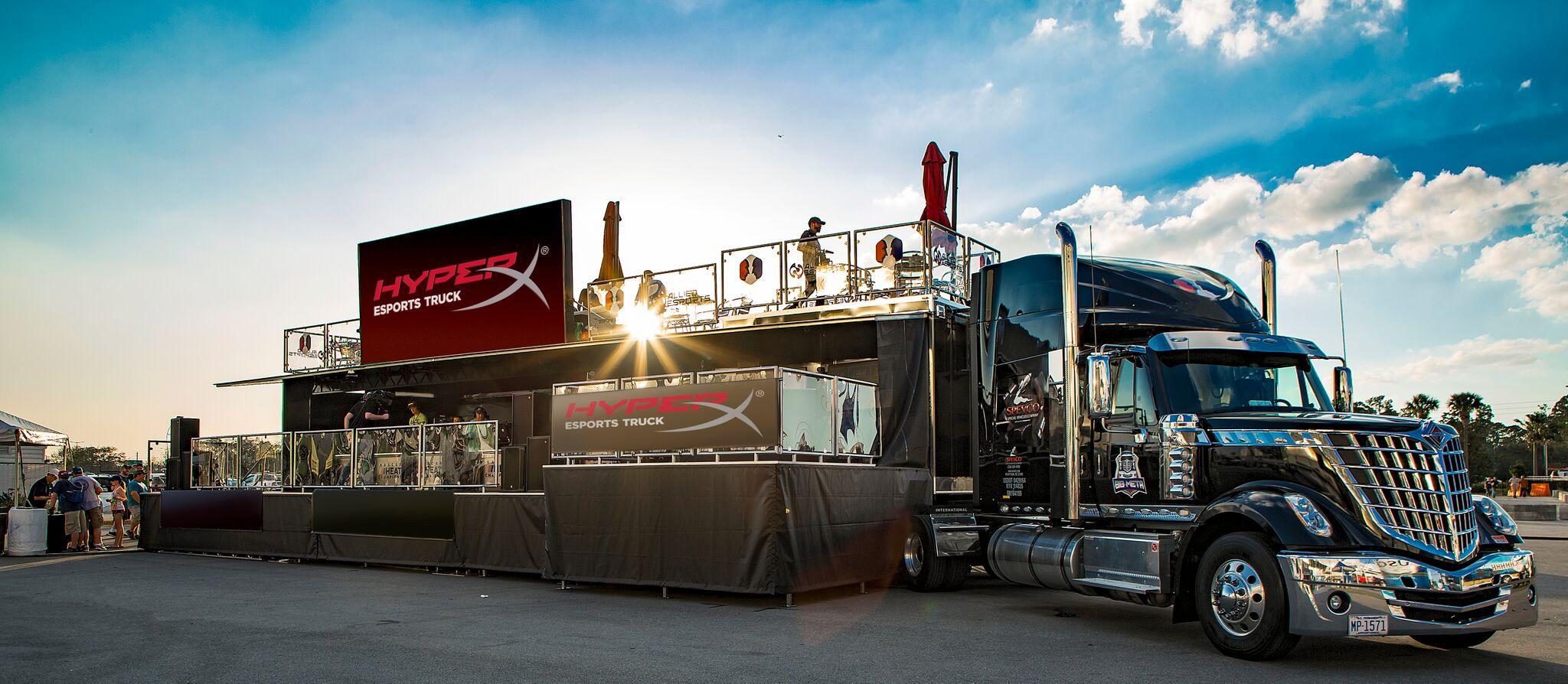 HyperX presenta el HyperX Esports Truck
