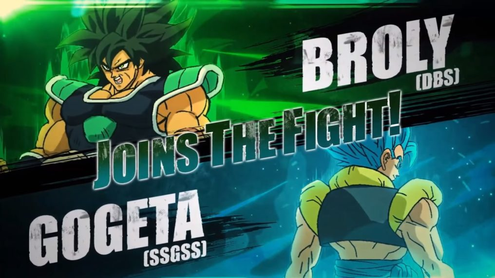 Broly y Gogeta llegarán a DRAGON BALL FighterZ