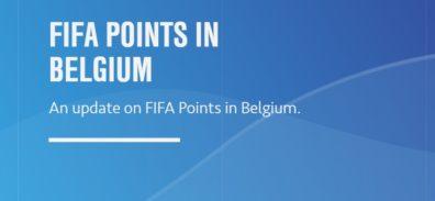 Electronic Arts deja de vender FIFA Points en Bélgica