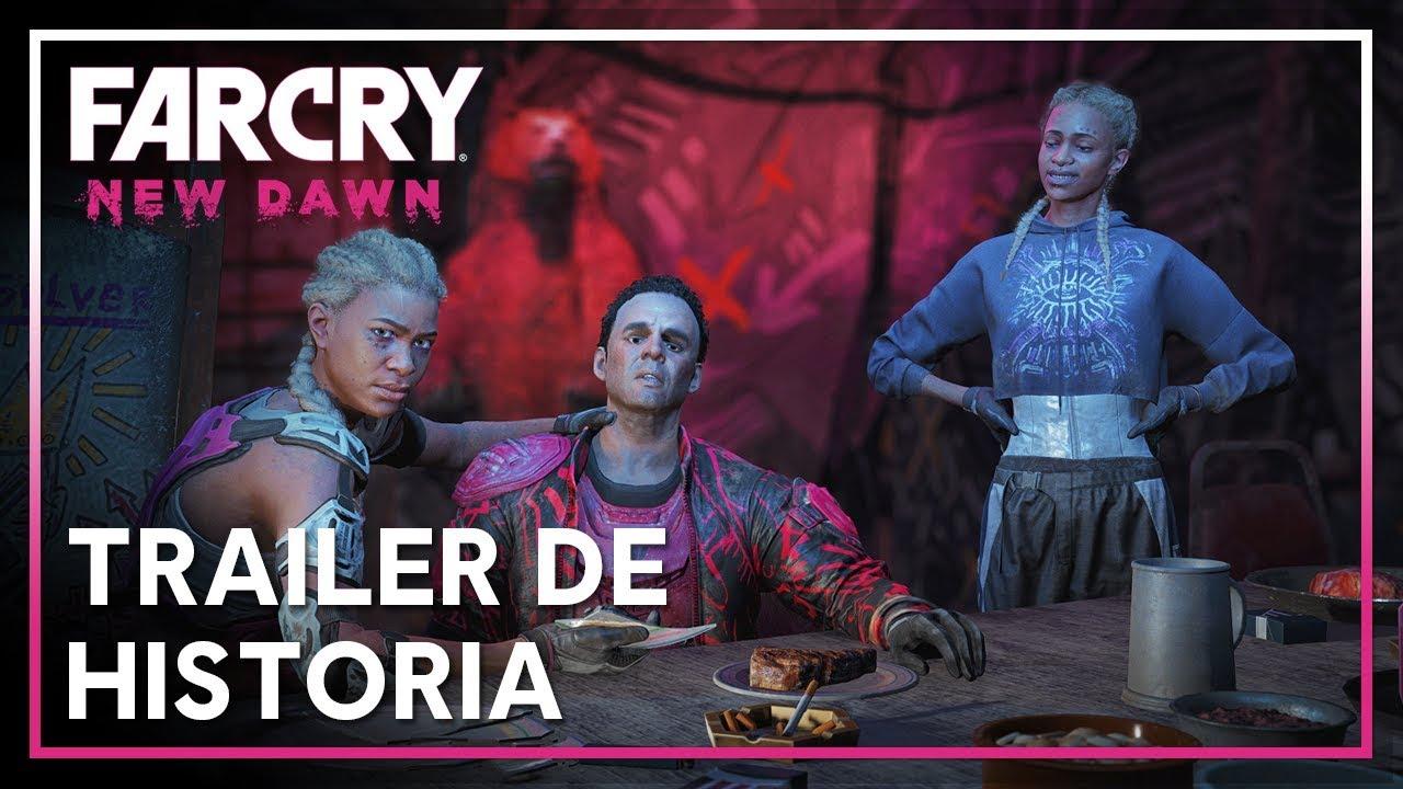 Mira el nuevo tráiler de historia de Far Cry New Dawn