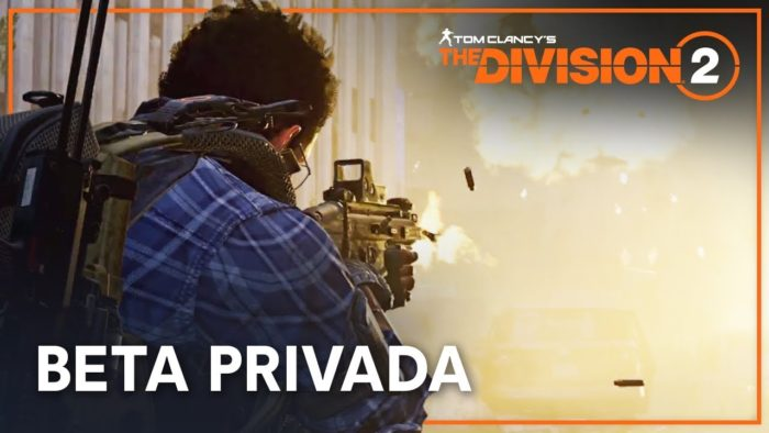 Beta privada de  The Division 2 incluirá vistazo a endgame