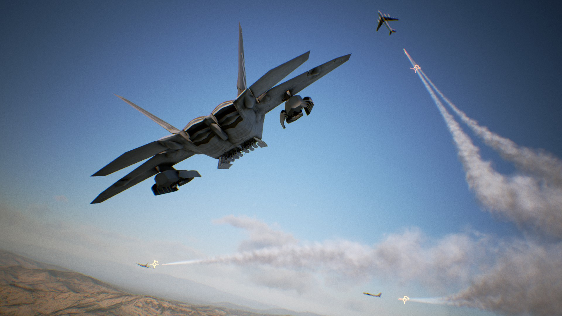 ACE COMBAT 7: SKIES UNKNOWN llega hoy a STEAM