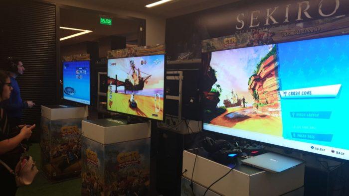 Probamos Sekiro: Shadows Die Twice y Crash Team Racing Nitro-Fueled y estas son nuestras impresiones