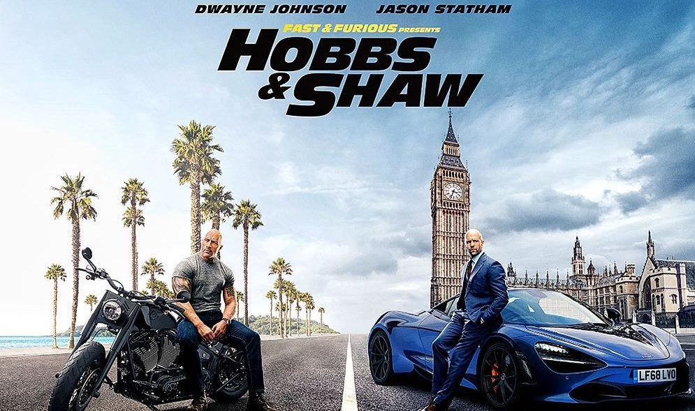Mira el primer tráiler de Hobbs & Shaw